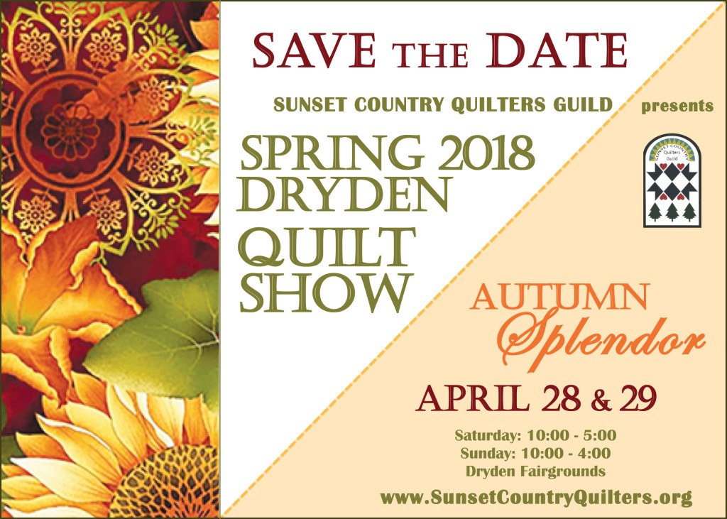 2018 Quilt Show Save-the-date